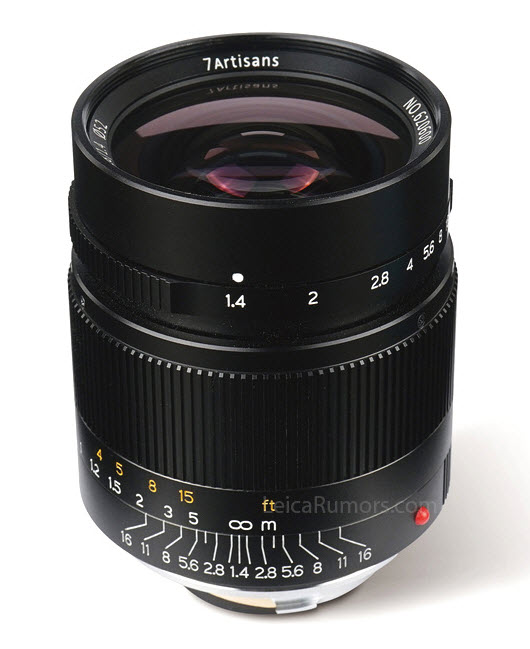 Imagini pentru 7Artisans 28mm f 1.4 lens for Leica M-mount close view