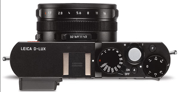 Leica D-Lux 7 top view