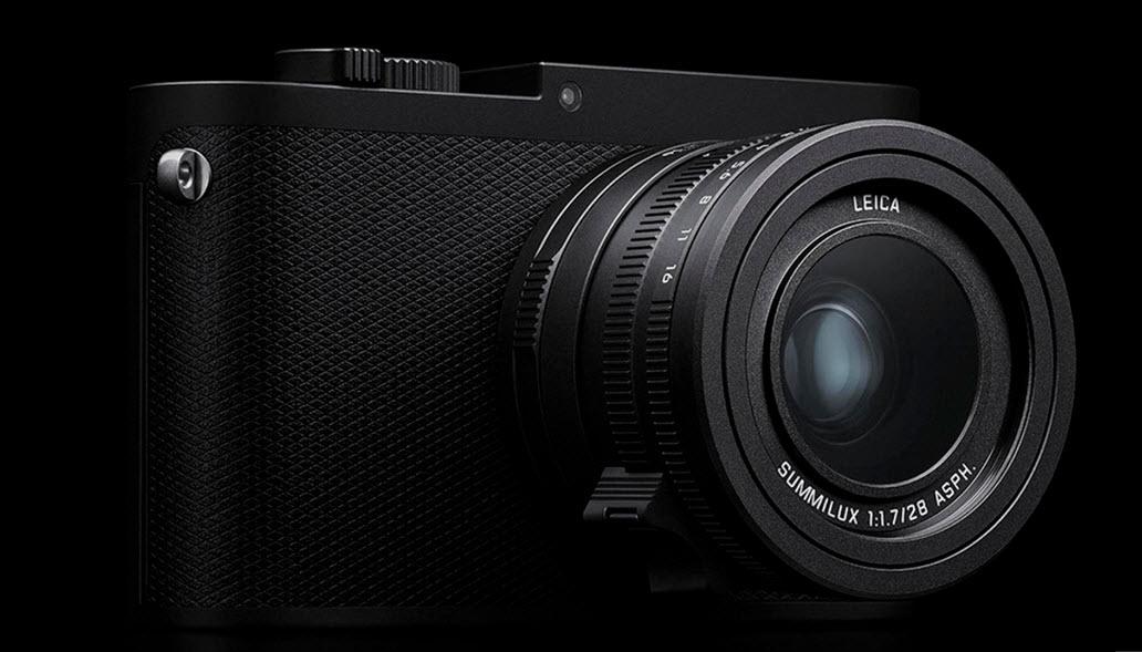 Leica Q-P camera angle view