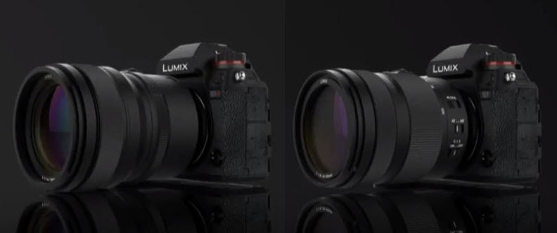 Lumix S1R and S1 side by side
