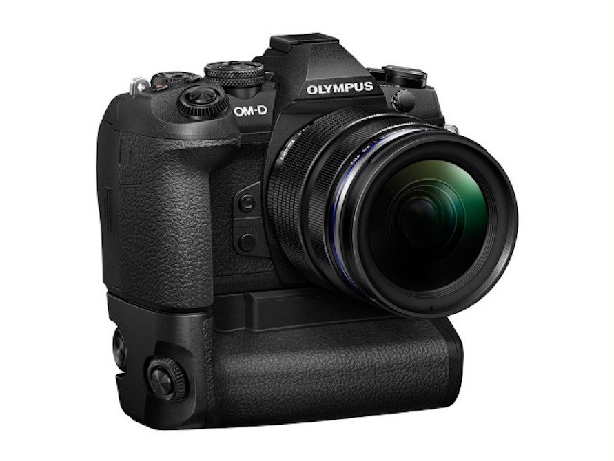 Olympus OM-D E-M1X with grip