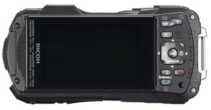Ricoh WG-60 rear view