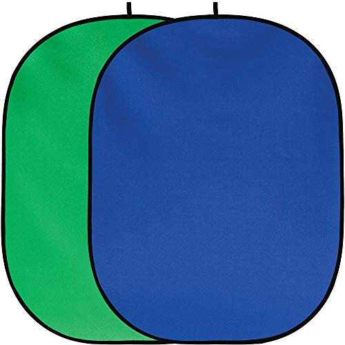 Fancier studio Chroma key Green Chroma key Blue Collapsible Backdrop Collapsible Reversible Background review